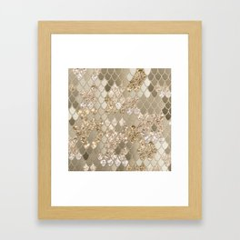 Mermaid Glitter Scales #5 #shiny #decor #art #society6 Framed Art Print