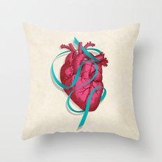 By heart Throw Pillow