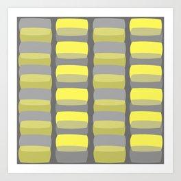 Cobblestones At Dusk Art Print