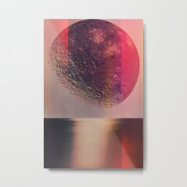 Moon Lake Metal Print