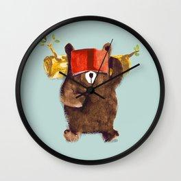 No Care Bear - My Sleepy Pet Wall Clock