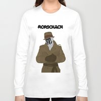 rorschach Long Sleeve T-shirts featuring Rorschach by Design Sparks