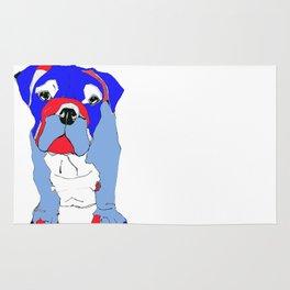 Britishy Bulldog Rug