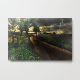 A Stormy Night Metal Print