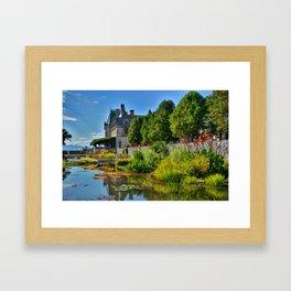 The Biltmore Estate Gardens Framed Art Print