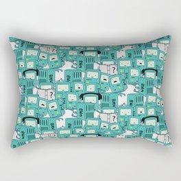 BMO patterns Rectangular Pillow