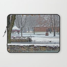 Duck Pond at Ste. Marie Du Lac Laptop Sleeve