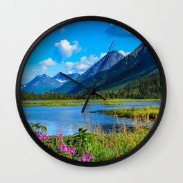 God's_Country - II Wall Clock