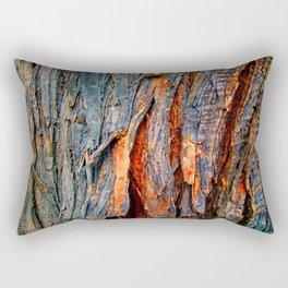 Bark Texture 22 Rectangular Pillow