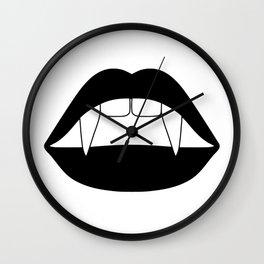 FANG LIPS Wall Clock