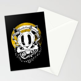 Dog skull Stationery Cards
