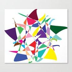 Cosmic Star Canvas Print
