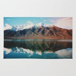 Film photo of New Zealand Glacier Landscape Rug