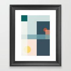 Geo Comp III Framed Art Print