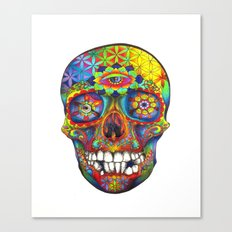 Skull of Life Canvas Print