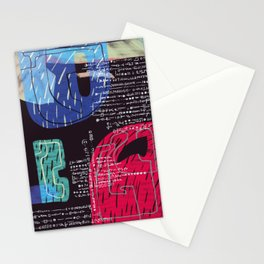 Abstract Composition 07 Stationery Cards