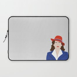 Agent Carter Vector Laptop Sleeve