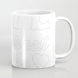 FALLING IN LOVE TO THE BEAT OF THE MUSIC RACERBACK TANK Coffee Mug