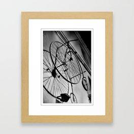SHADOW CYCLE Framed Art Print