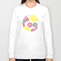 floral pattern Long Sleeve T-shirts featuring Floral Pattern by C Designz
