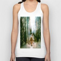 the hobbit Tank Tops featuring HOBBIT HOUSE by FOXART  - JAY PATRICK FOX