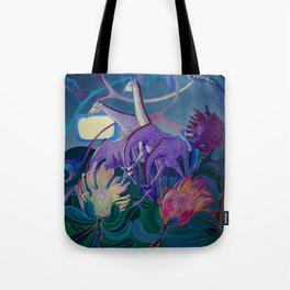 Moonlight dances Tote Bag