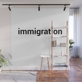 immigration Wall Mural