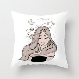 Little Dreamer Throw Pillow