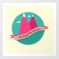 The Royal Mountaineers Art Print