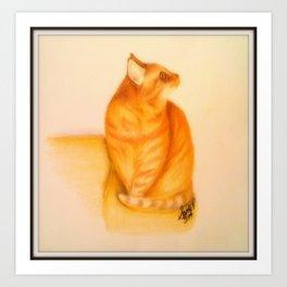 Mr. Leo Art Print