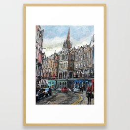 Victoria Street, Edinburgh Framed Art Print