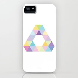 Fig. 013 Colorful Triangle iPhone Case