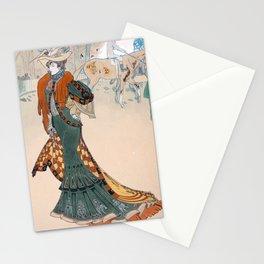 Les Modes by Georges de Feure - Art Nouveau Vintage Retro Poster Stationery Cards