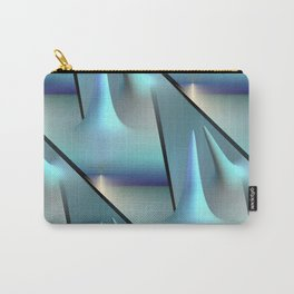 3D - abstraction -82- Carry-All Pouch