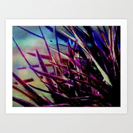 Crystallize-photo montage Art Print