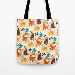 jurassic classic pattern Tote Bag