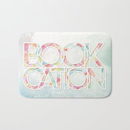 Bookcation Bath Mat