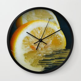 Lemony Good V.2 Wall Clock