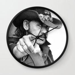 Lemmy sketch Wall Clock