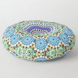 Mosaic Pattern Floor Pillow