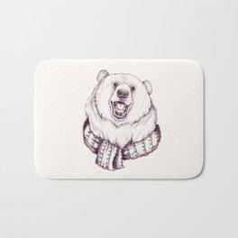 Bear & Scarf Bath Mat