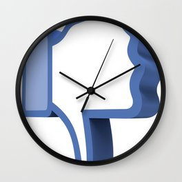 Dislike Button Wall Clock
