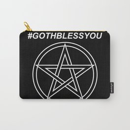 #GOTHBLESSYOU Carry-All Pouch