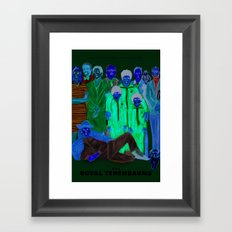 Movies we like - The Royal Tenenbaums Framed Art Print