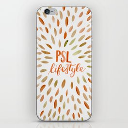 Pumpkin Spice Lifestyle iPhone Skin