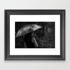 pouring dreams Framed Art Print