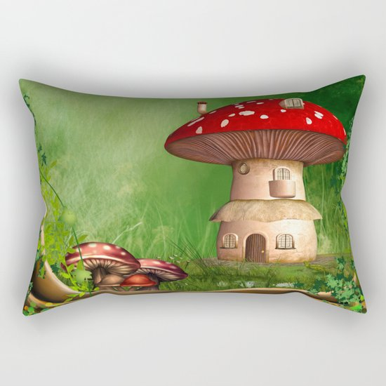 Dwarf Land Rectangular Pillow