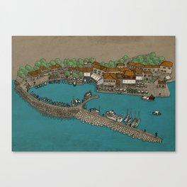 Molyvos Canvas Print
