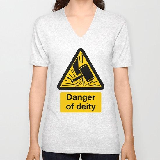 Danger of Deity Unisex V-Neck