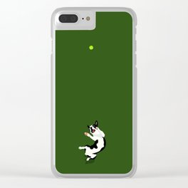 Happy-Go-Lucky Clear iPhone Case